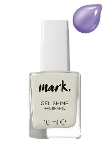 Avon Mark Gel Shine Oje Lavender Sky Mor